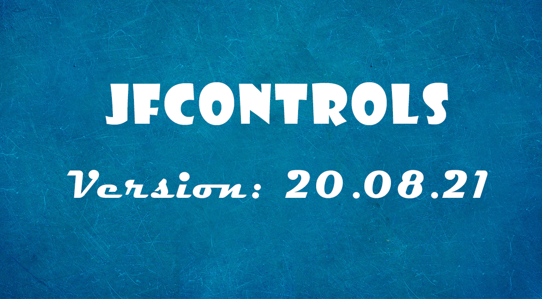 JfControls 20.08.21 released