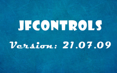 JfControls 21.07.09 released
