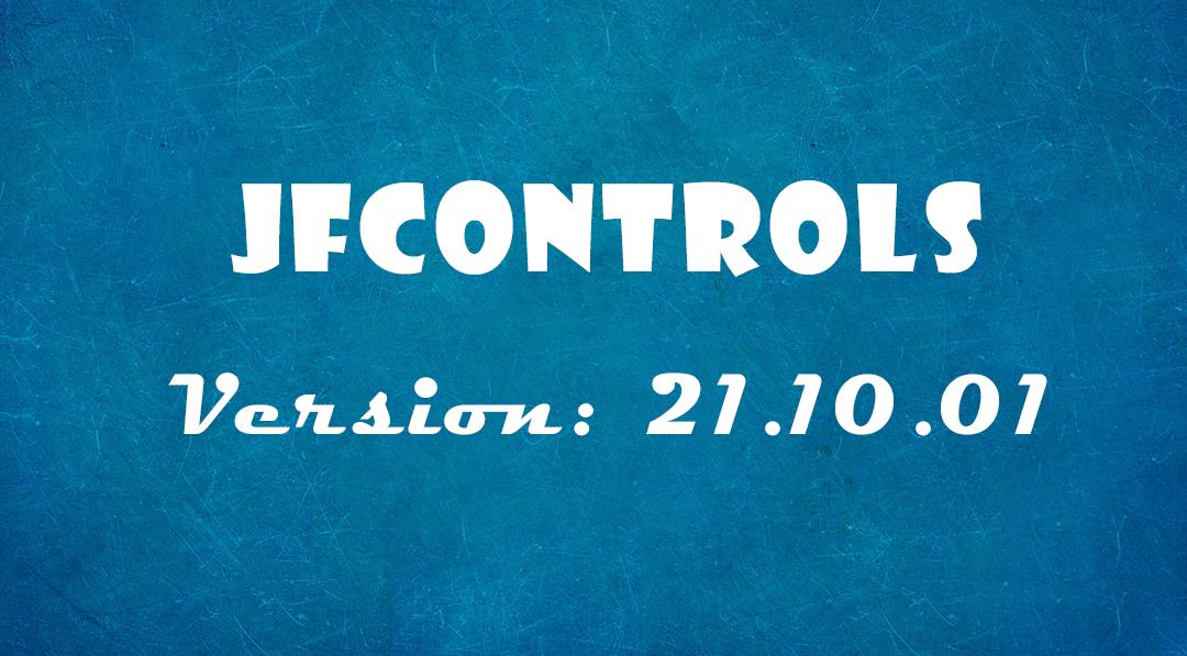 Lanzamiento de JfControls 21.10.01