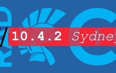Qué viene en 10.4.2 Sydney